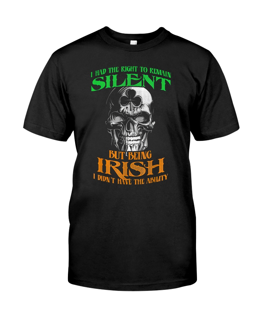 Irish Skull Classic T-Shirt