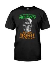 Irish Skull Classic T-Shirt front