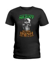 Irish Skull Ladies T-Shirt thumbnail