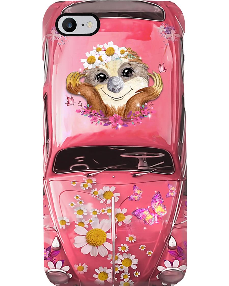 Sloth Lovers Vw Bug Phone Case