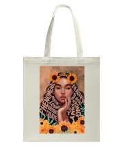 Beautiful Girl Tote Bag thumbnail