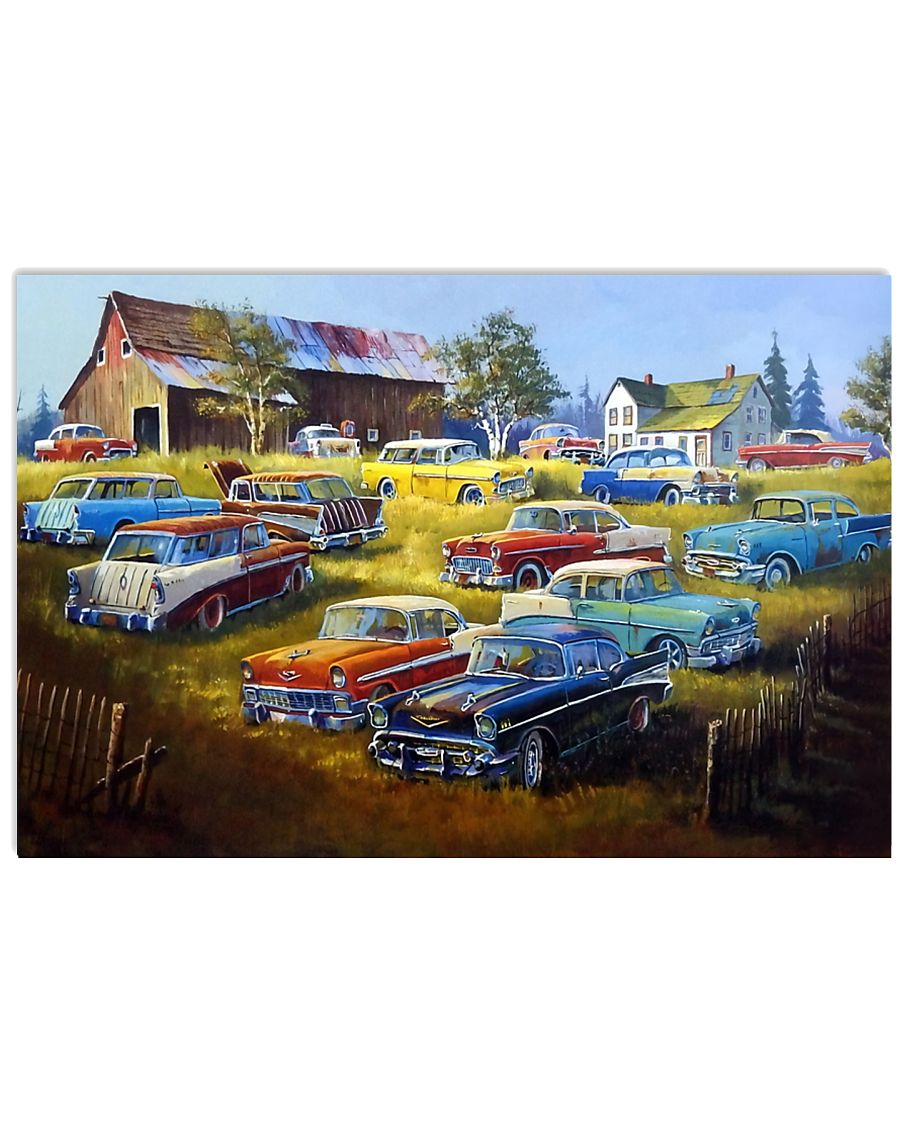 Chevys All The Way 17x11 Poster
