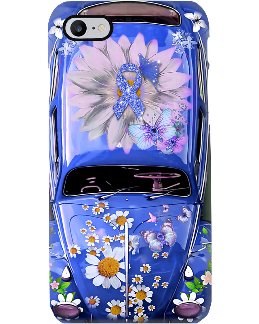 Be Healthy Vw Bug Phone Case