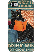 Drink Wine and know many things Phone Case thumbnail