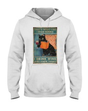 Drink Wine and know many things Hooded Sweatshirt thumbnail