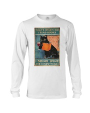 Drink Wine and know many things Long Sleeve Tee thumbnail
