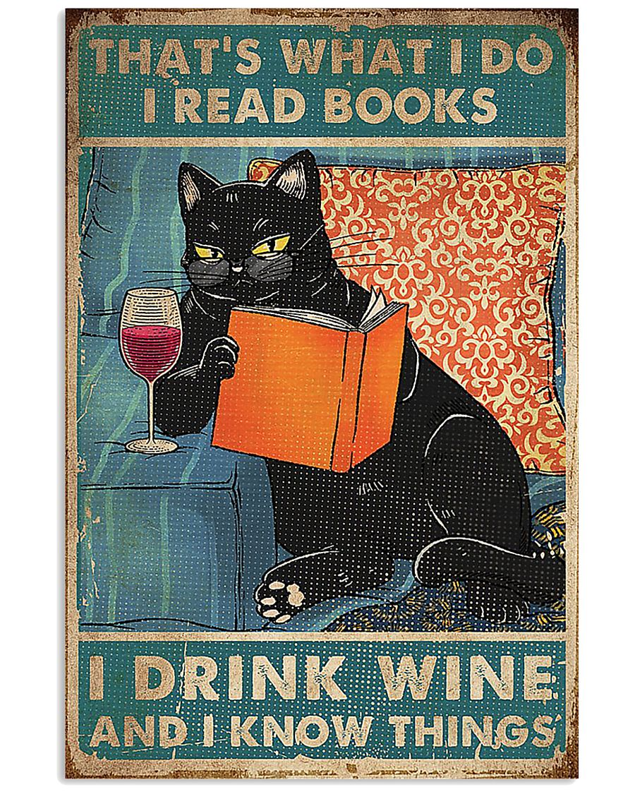 Drink Wine and know many things 11x17 Poster