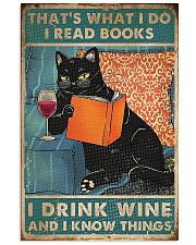 Drink Wine and know many things 11x17 Poster front