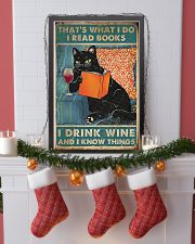 Drink Wine and know many things 11x17 Poster lifestyle-holiday-poster-4