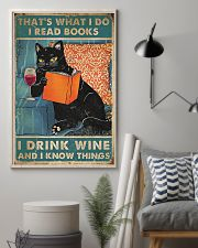 Drink Wine and know many things 11x17 Poster lifestyle-poster-1
