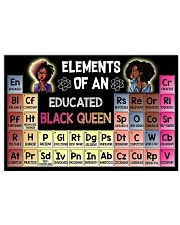 Elements Of An Educated Black Queen 36x24 Poster front
