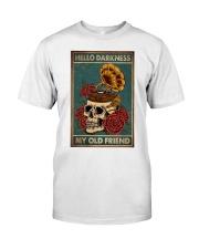Vinyl Skull Classic T-Shirt thumbnail