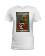 Vinyl Skull Ladies T-Shirt thumbnail