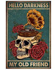 Vinyl Skull 11x17 Poster front