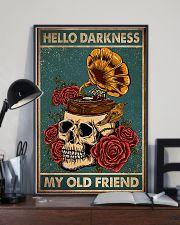 Vinyl Skull 11x17 Poster lifestyle-poster-2