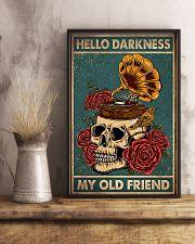 Vinyl Skull 11x17 Poster lifestyle-poster-3