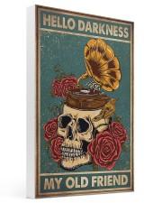 Vinyl Skull 16x24 Gallery Wrapped Canvas Prints thumbnail
