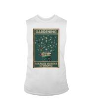 Gardening Because Murder Is Wrong Sleeveless Tee thumbnail