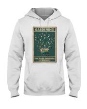 Gardening Because Murder Is Wrong Hooded Sweatshirt thumbnail