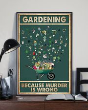 Gardening Because Murder Is Wrong 11x17 Poster lifestyle-poster-2