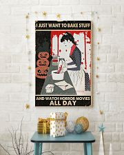 I Just Want To Bake Stuff 11x17 Poster lifestyle-holiday-poster-3