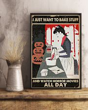 I Just Want To Bake Stuff 11x17 Poster lifestyle-poster-3