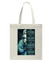 She is Strong poster Tote Bag thumbnail