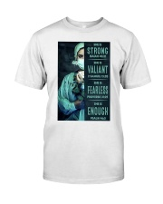 She is Strong poster Classic T-Shirt thumbnail