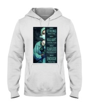 She is Strong poster Hooded Sweatshirt thumbnail