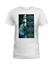 She is Strong poster Ladies T-Shirt thumbnail