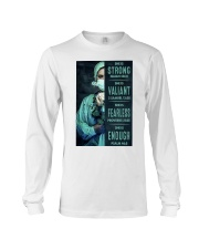 She is Strong poster Long Sleeve Tee thumbnail