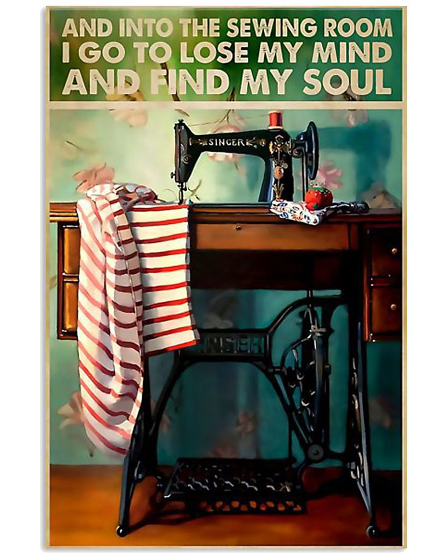 Into The Sewing Room 11x17 Poster