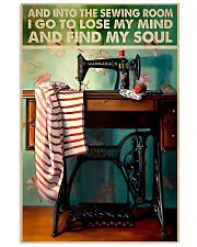 Into The Sewing Room 11x17 Poster front