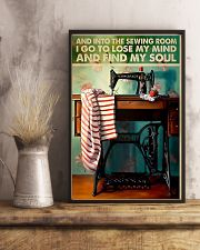 Into The Sewing Room 11x17 Poster lifestyle-poster-3