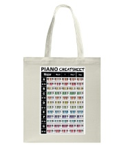 Piano Chords Cheatsheet Tote Bag thumbnail