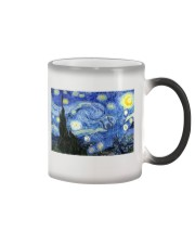 Dragonfly Starry Night Color Changing Mug thumbnail