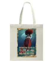And Into The Ocean Tote Bag thumbnail
