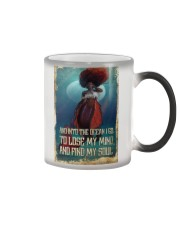 And Into The Ocean Color Changing Mug thumbnail