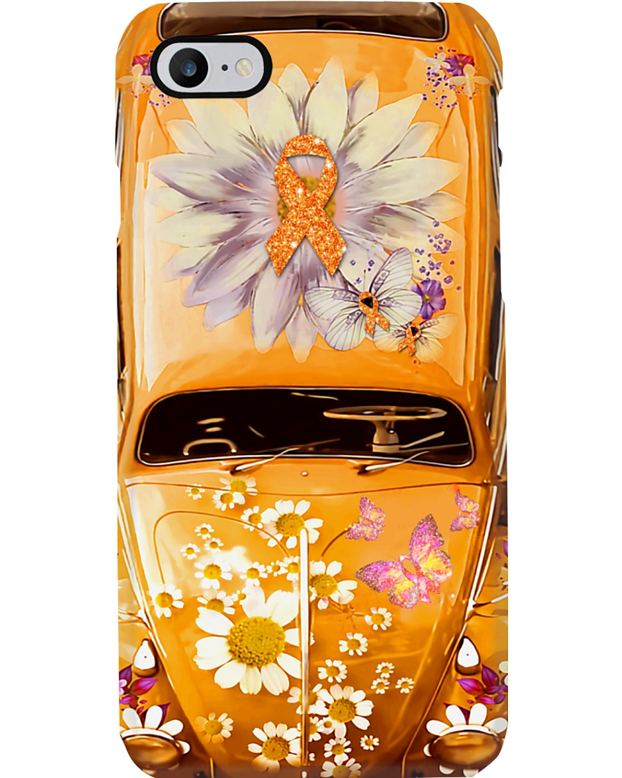 Multiple Sclerosis Cancer Vw Bug Phone Case