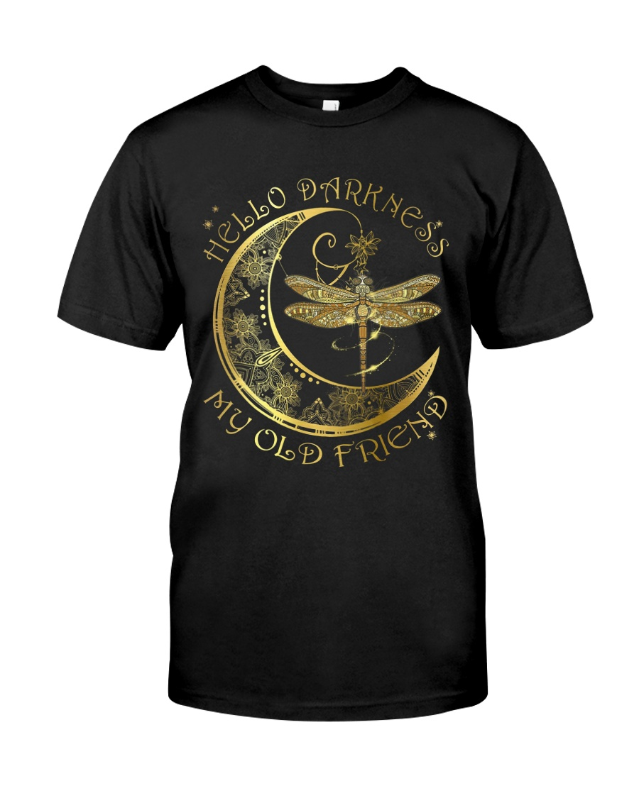 Sparkling Darkness Dragonfly Classic T-Shirt