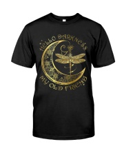 Sparkling Darkness Dragonfly Classic T-Shirt front