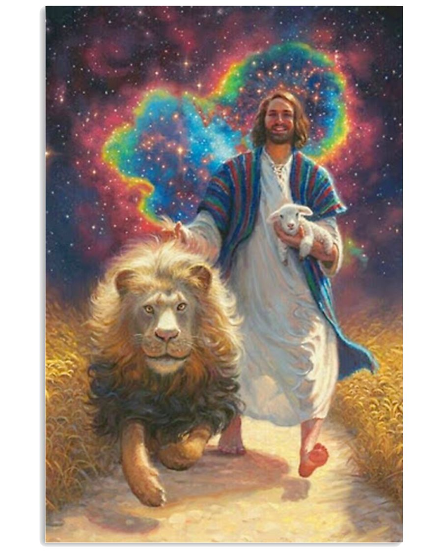 Hippie Jesus 16x24 Poster