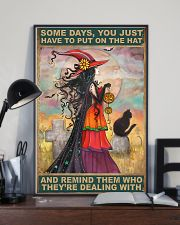 Remind Them Who They're Dealing With 11x17 Poster lifestyle-poster-2