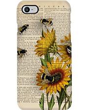 Sunflower Bee Phone Case thumbnail
