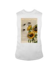Sunflower Bee Sleeveless Tee thumbnail