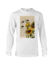 Sunflower Bee Long Sleeve Tee thumbnail