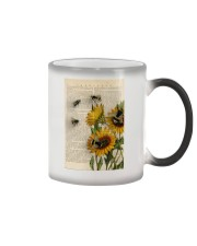 Sunflower Bee Color Changing Mug thumbnail