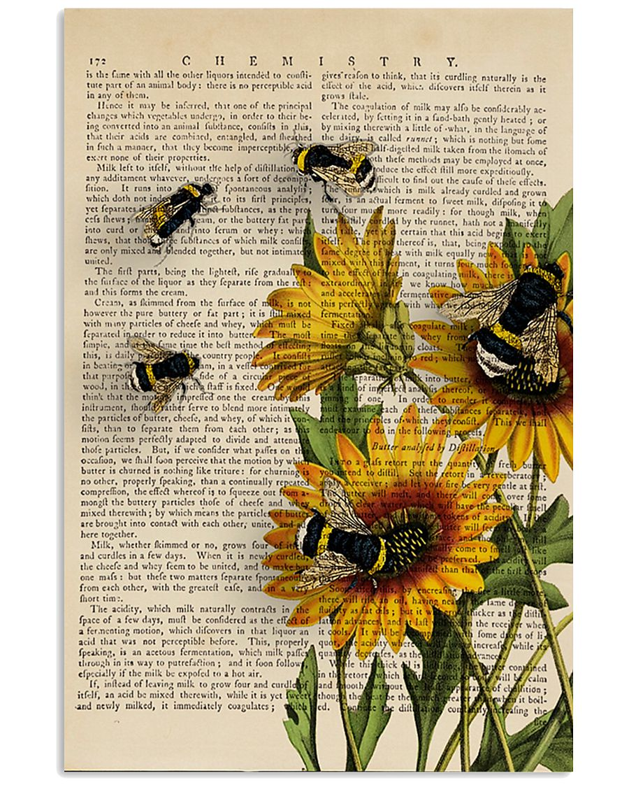 Sunflower Bee 11x17 Poster