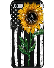 Peace Sunflower Phone Case i-phone-7-case