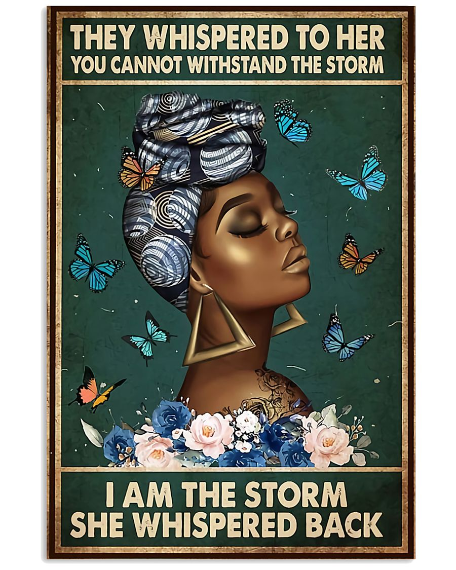Afro Queen 11x17 Poster